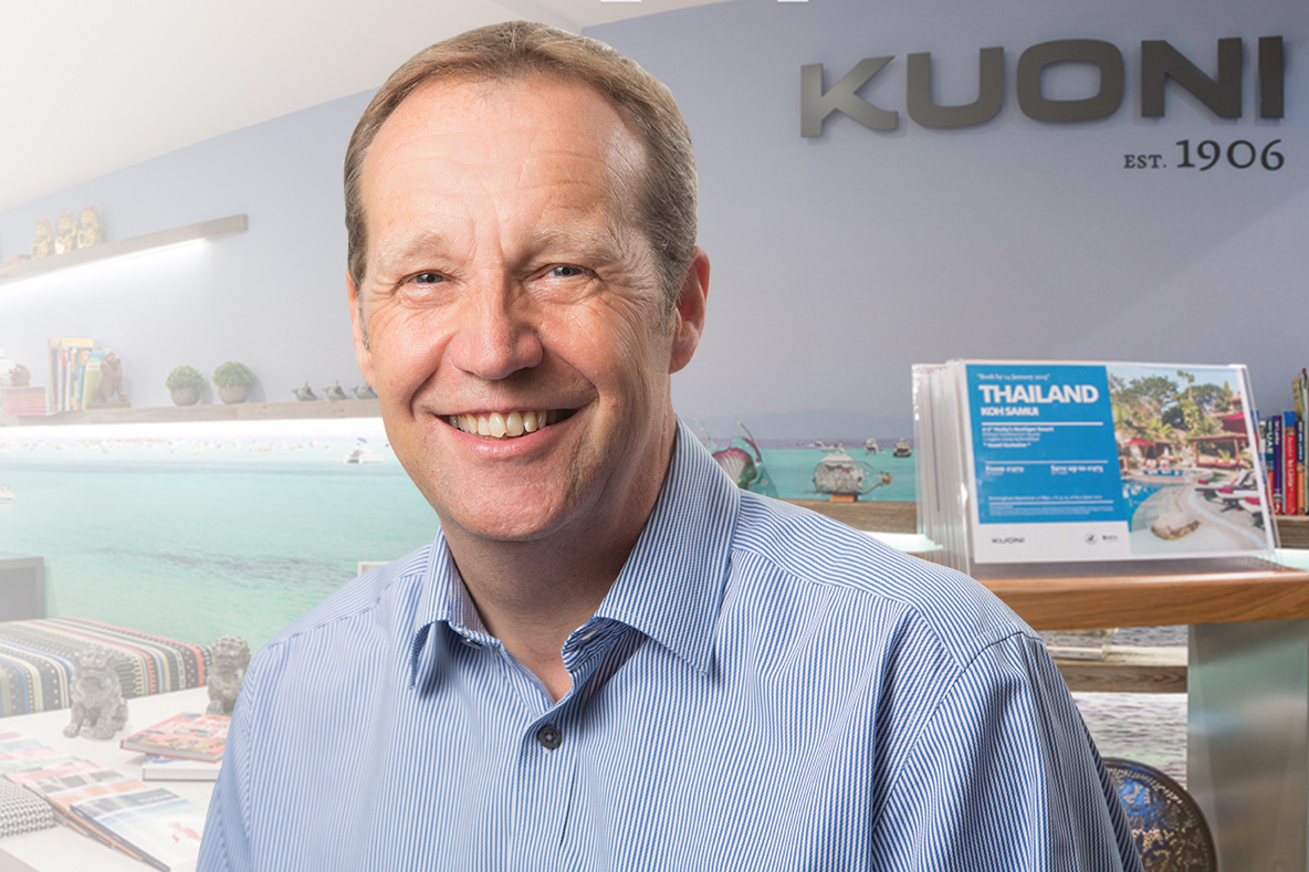 New owner will help 'accelerate growth', says Kuoni's Derek Jones