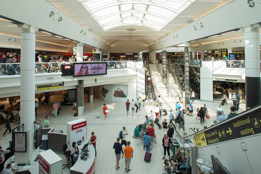 Shopping in places such as Gatwick's South Terminal will be a different experience from January