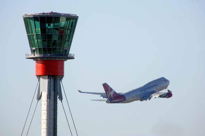 Heathrow control tower