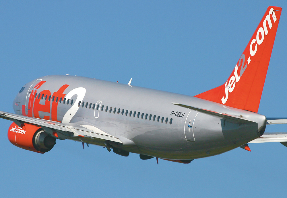 Jet2 owner's shares plunge following profit warning
