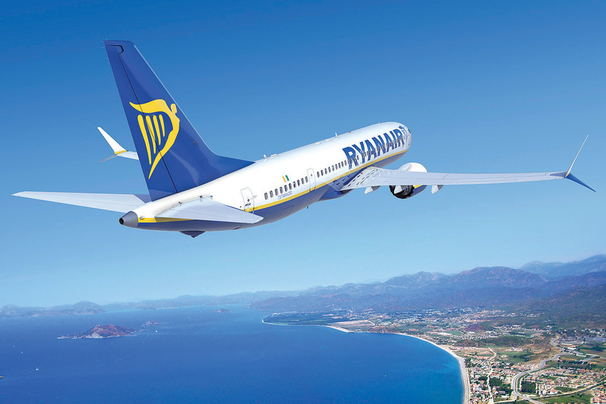 Ryanair counts the cost of Covid but plots growth