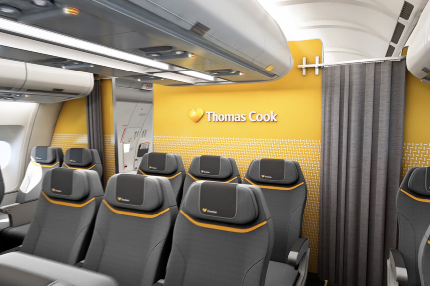 Thomas Cook Airlines premium cabin