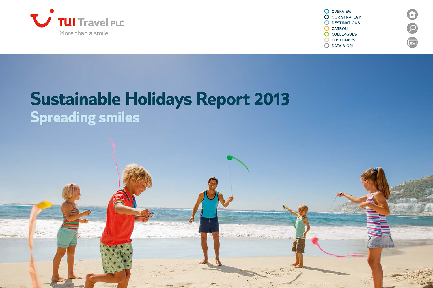 Tui Sustainable Holidays Report 2013
