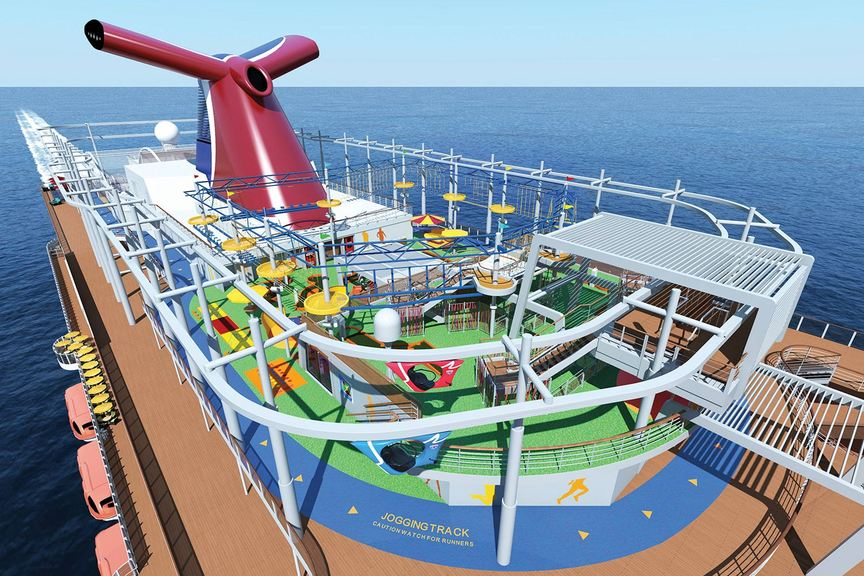 Carnival Vista will sail from Texas next month