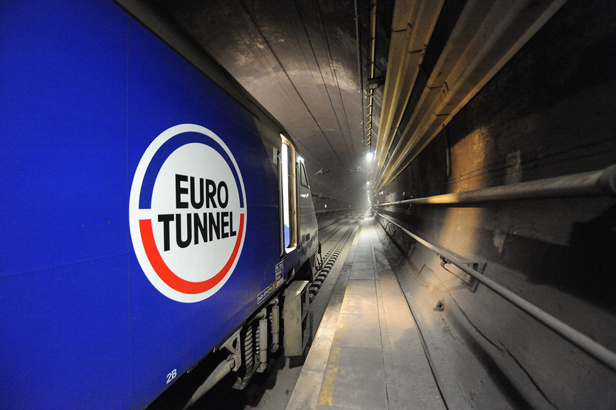 Channel Tunnel operator warns of no-deal Brexit headwinds