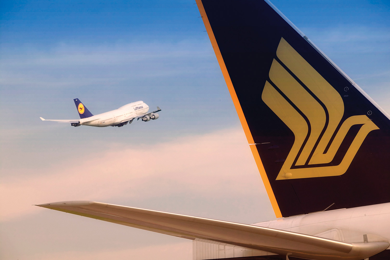 Singapore / Lufthansa aircraft