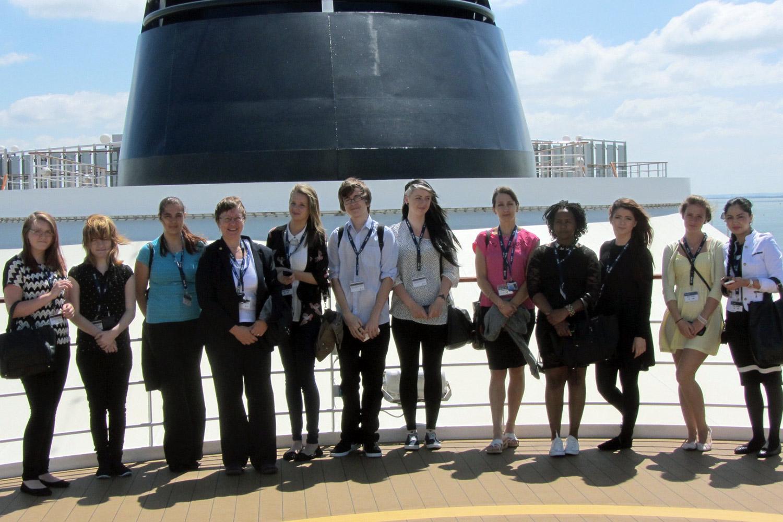 Meet Southampton's new wave of cruise graduates