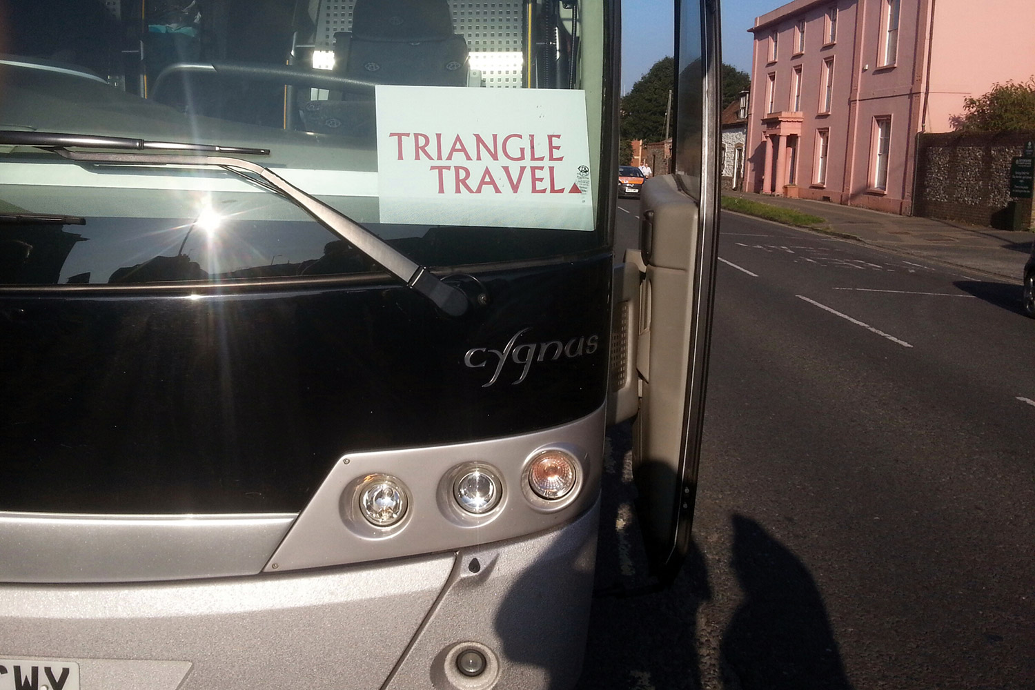 Triangle Travel coach