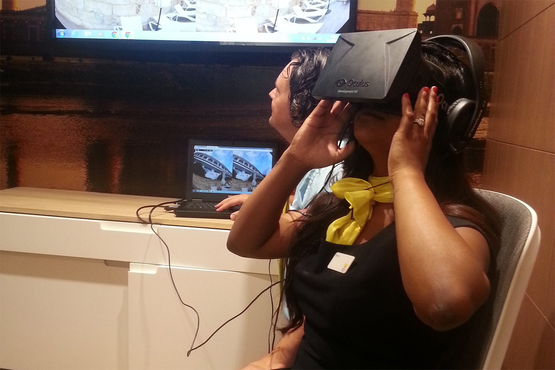 Oculus Rift - Thomas Cook