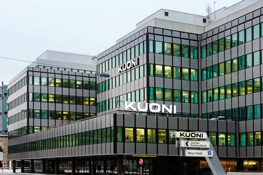 Kuoni - Zurich offices (NOT UK HQ)