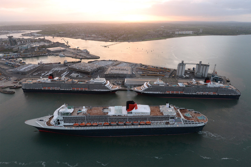 Southampton is planning to increase cruise ship capacity