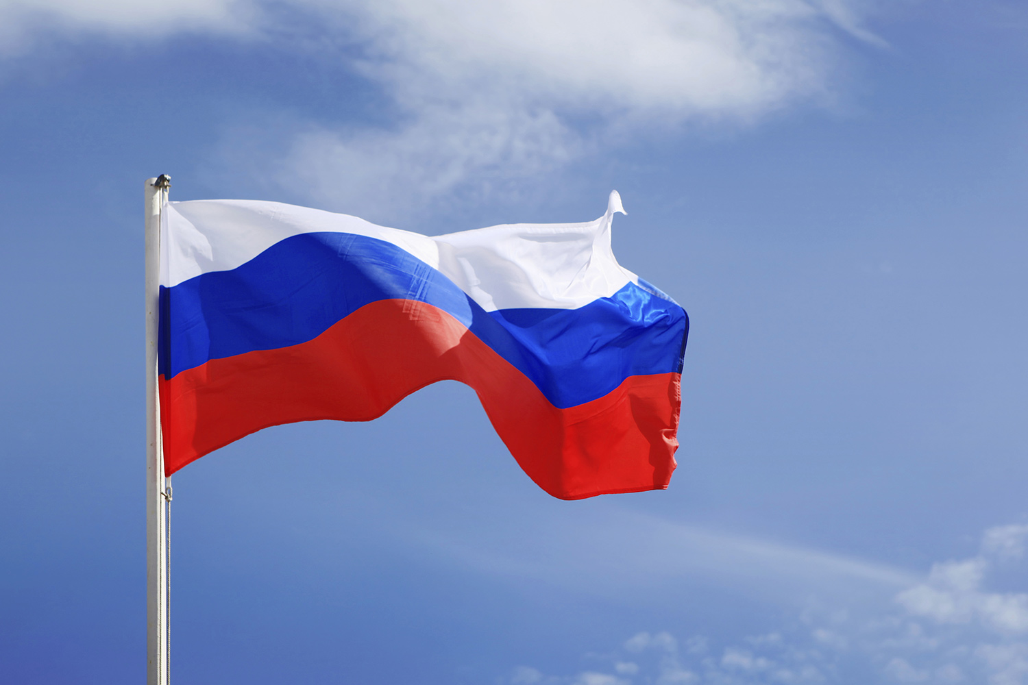 Russian flag (stock)