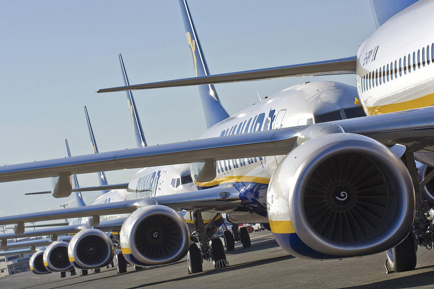 Ryanair is threatening to axe flights from four Irish airports
