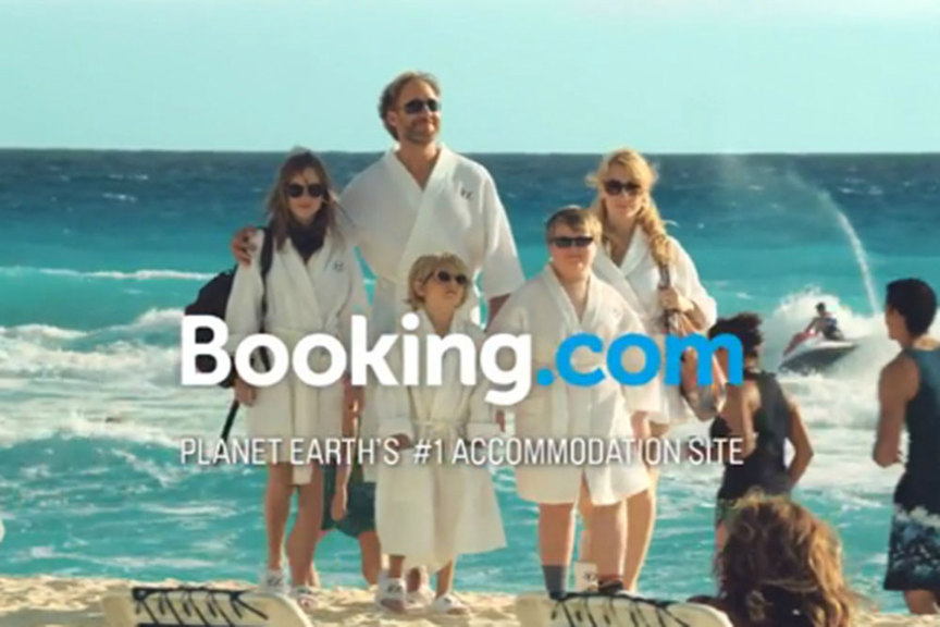 Booking.com advert