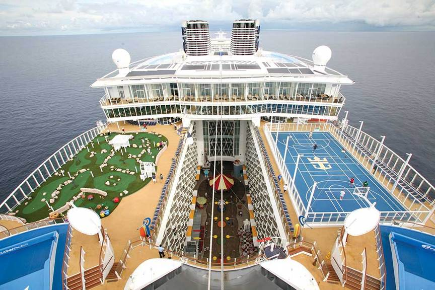 Royal Caribbean to further improve onboard ventilation systems