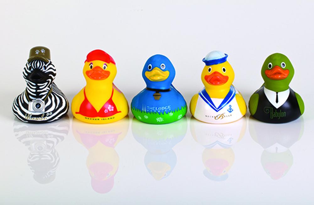 Virgin limited edition ducks
