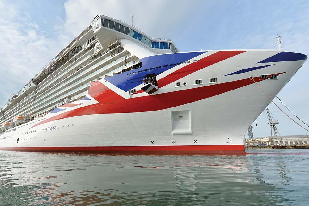 Britannia cruise ship