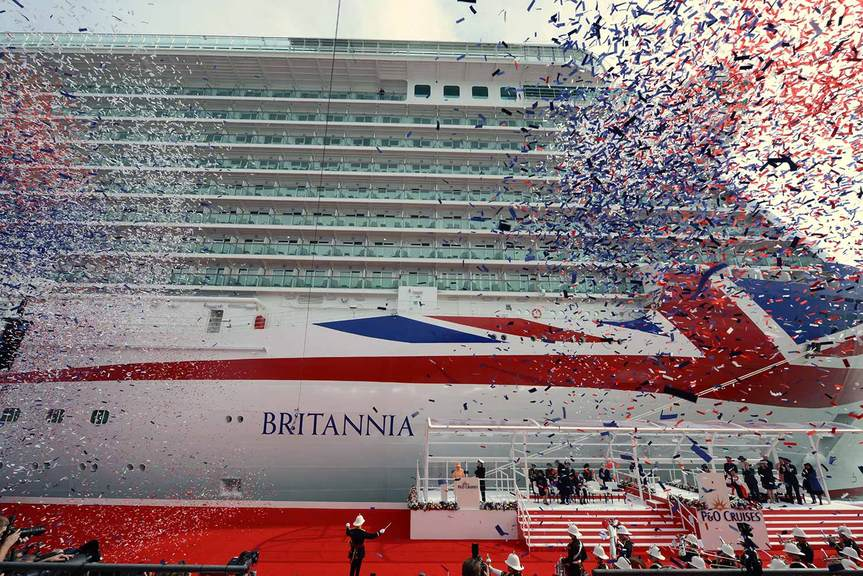 P&O releases extra cabins for Britannia summer sailings
