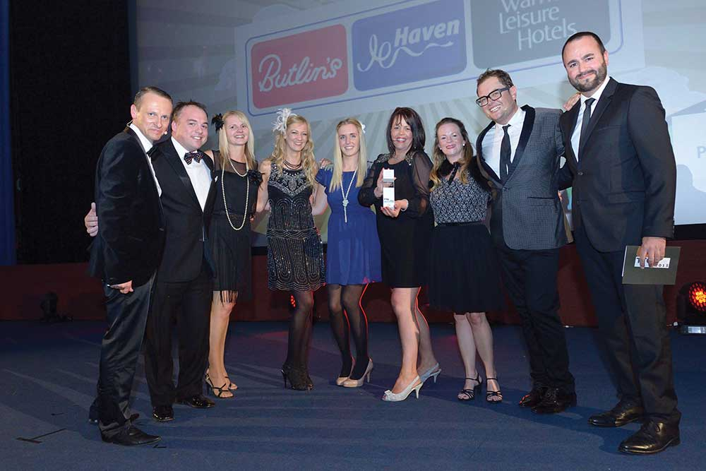 Travel Company of Year - Bourne Leisure