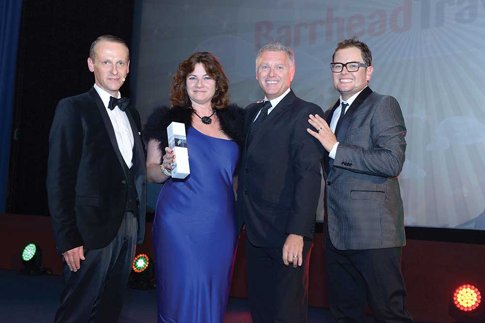 Travel Agency of the Year - Barrhead Travel