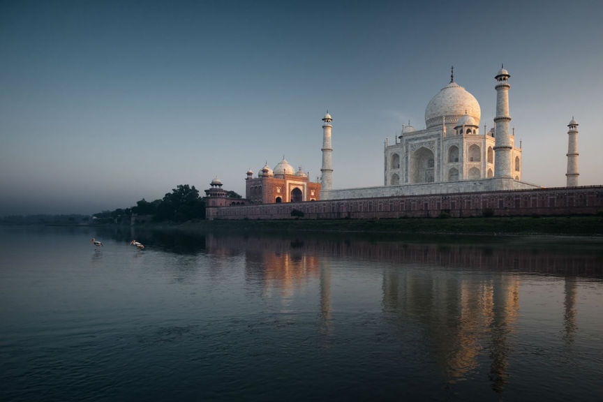 Taj Mahal reopens to tourists after six months