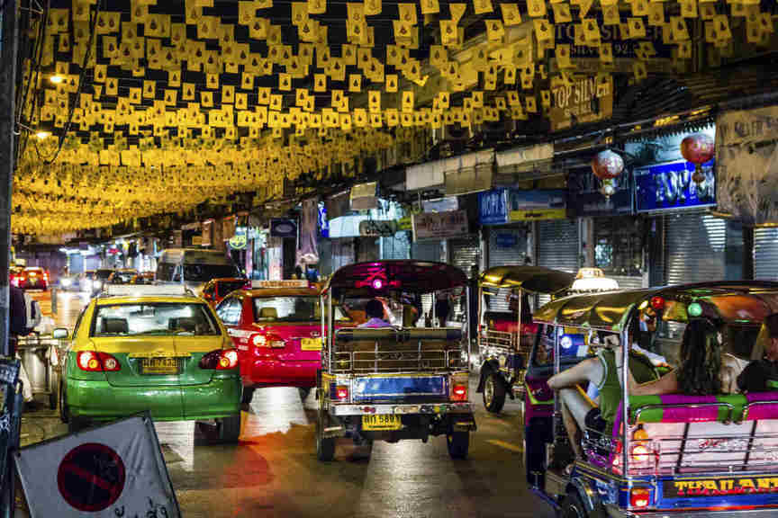 Bangkok rocked by string of bomb blasts