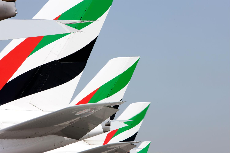Emirates tailfins