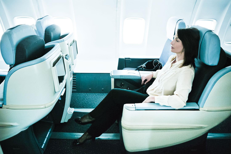 Win a return business class flight to New York