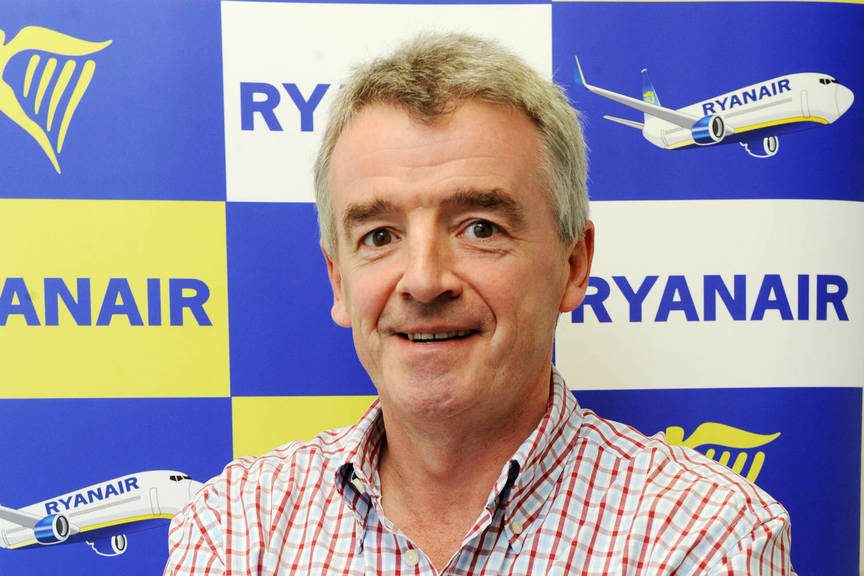 Ryanair's 8% profit fall 'exacerbated' by sterling decline post Brexit vote