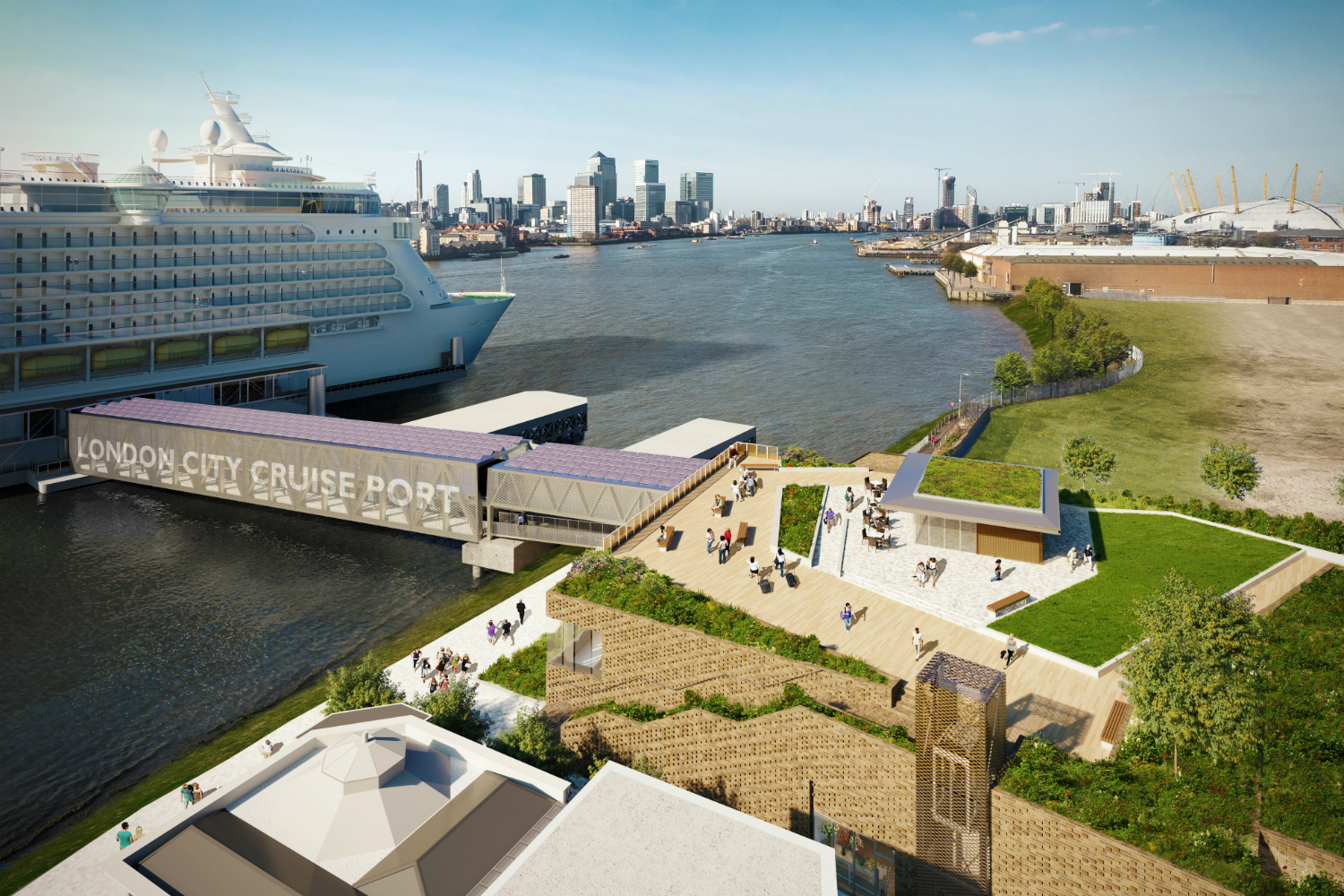 New Greenwich cruise terminal for 2017