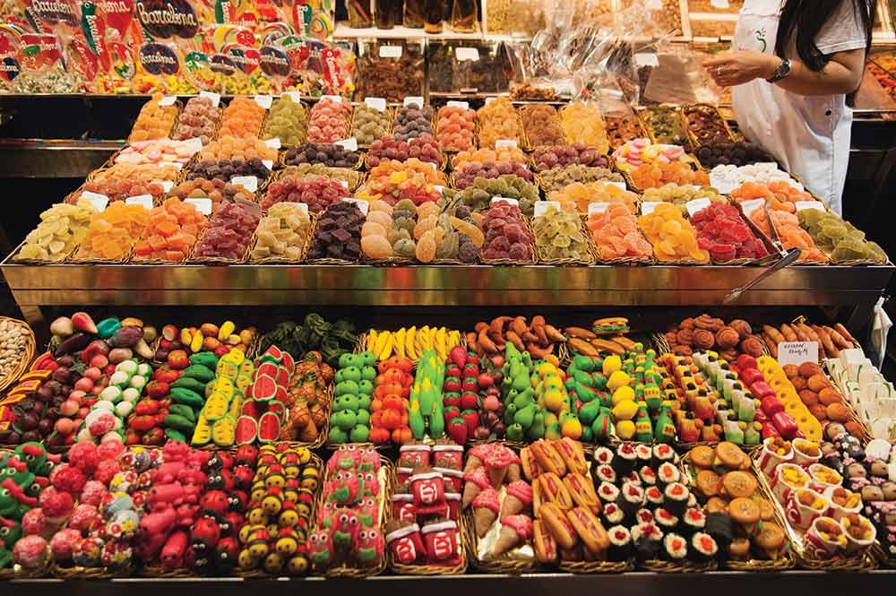 La Boqueria Barcelona market