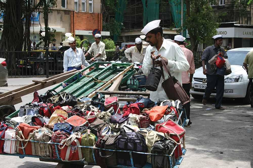 Mumbai market seller