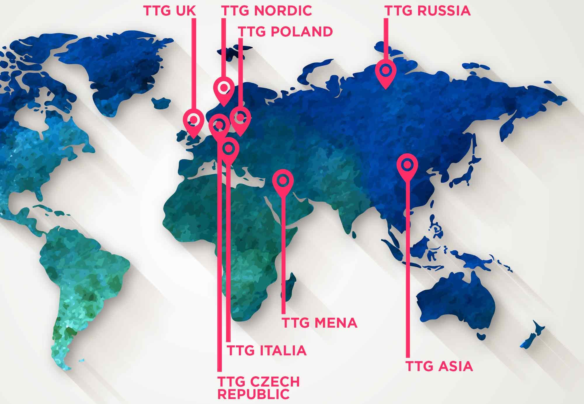 Ttg worldwide meet the ttg worldwide network map gumiabroncs Images
