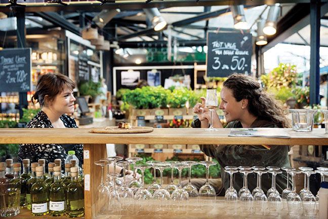 Torvehallerne Copenhagen Market