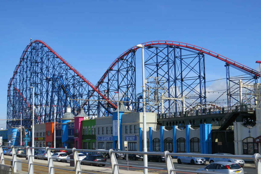 David Urquhart Travel operated coach tours to many popular British seaside resorts (Pictured: Blackpool)