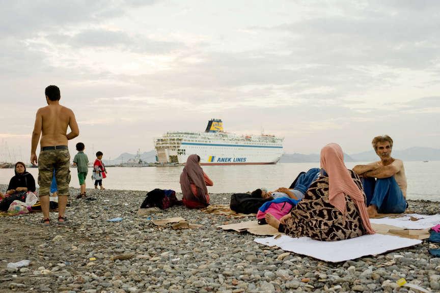 Refugees, Syria, Kos, Greece