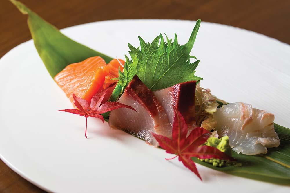 Sushi on the slopes
