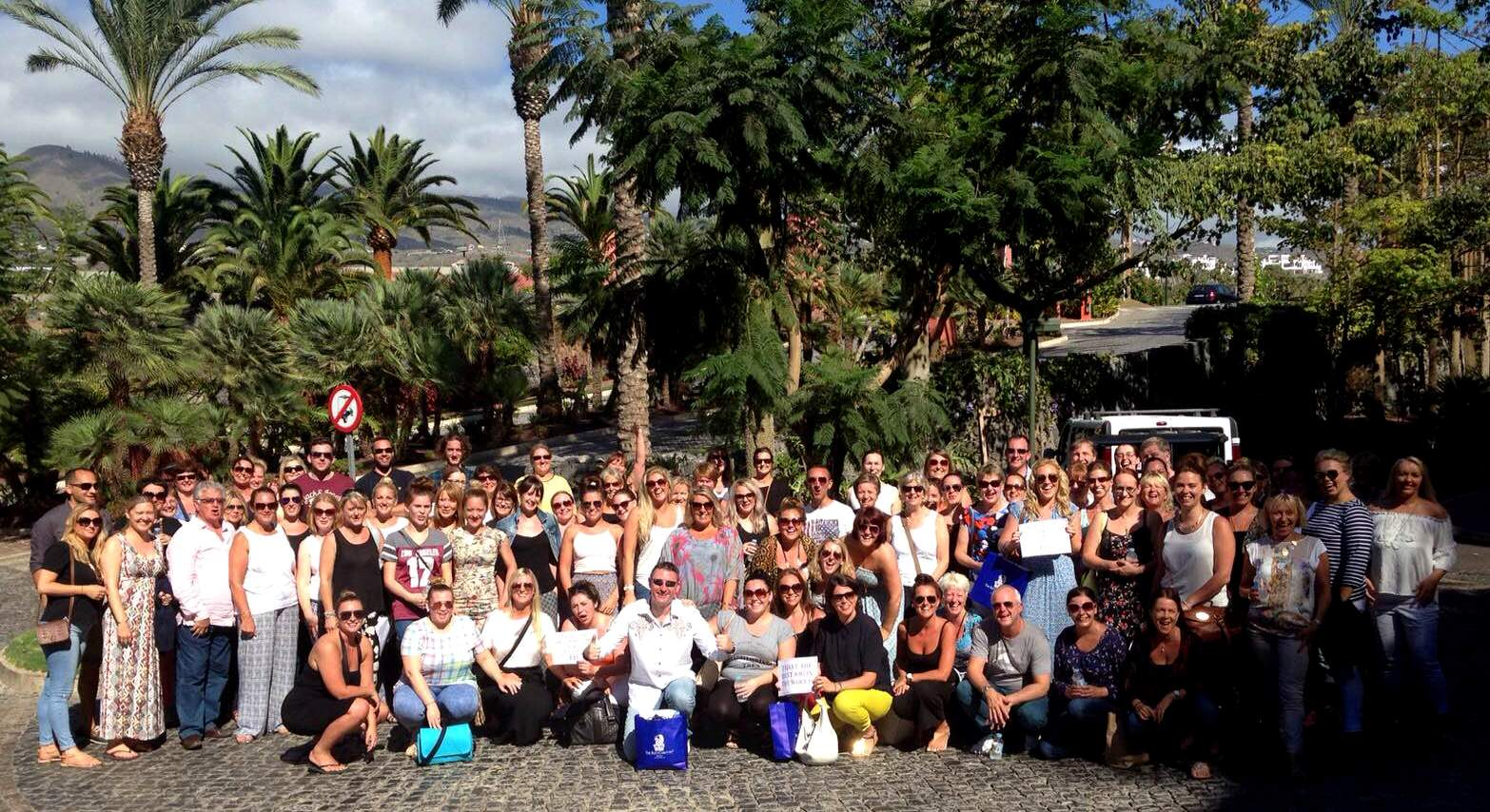 ITC takes all staff on luxury holiday to Tenerife