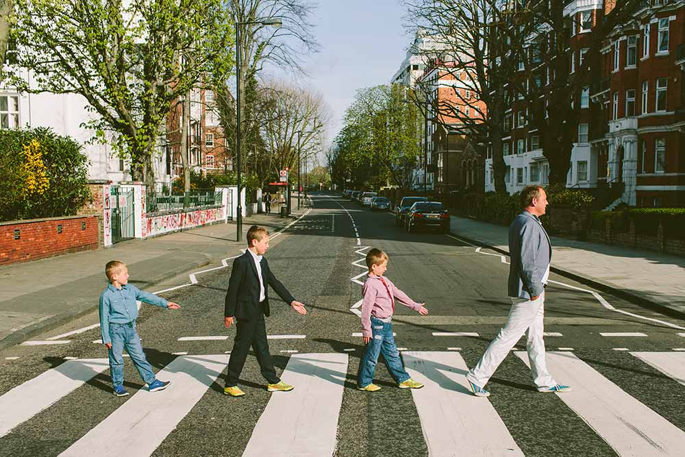 London Abbey Road Hector Mora and sons