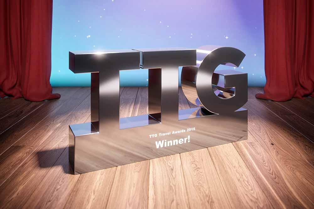 TTG Travel Awards winners trophy
