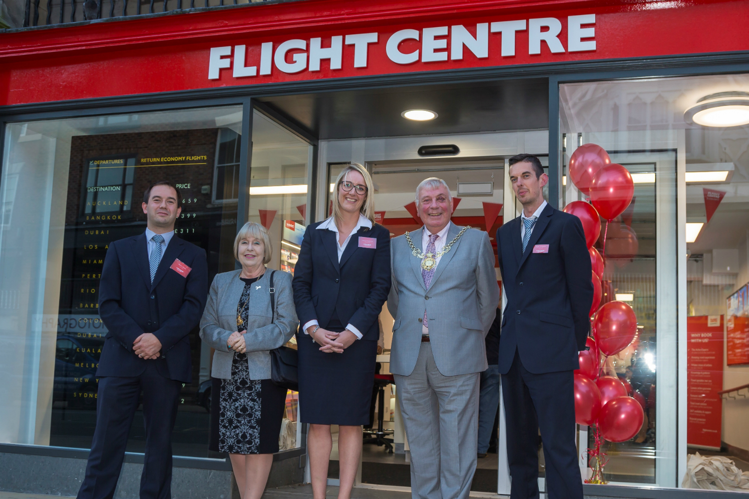 Flight Centre opens Chester branch