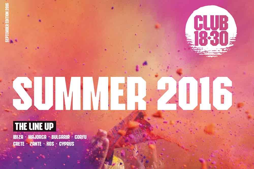 Summer 2016 clubbing 18-30