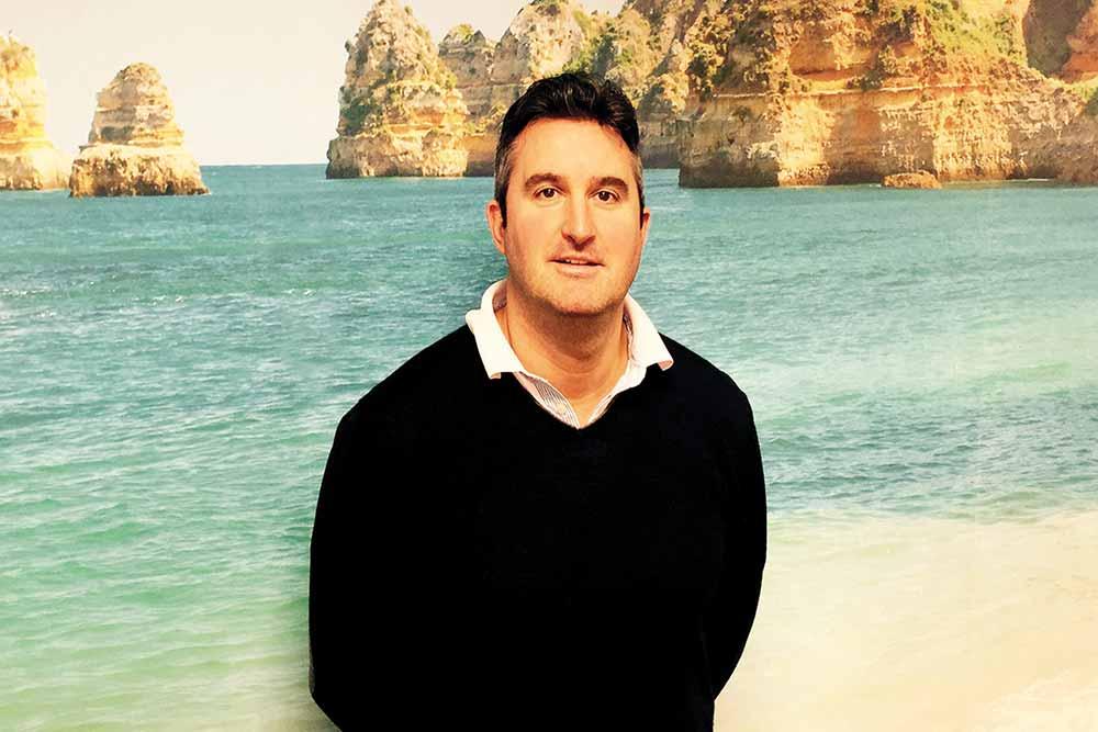 Simon Cooper On the Beach