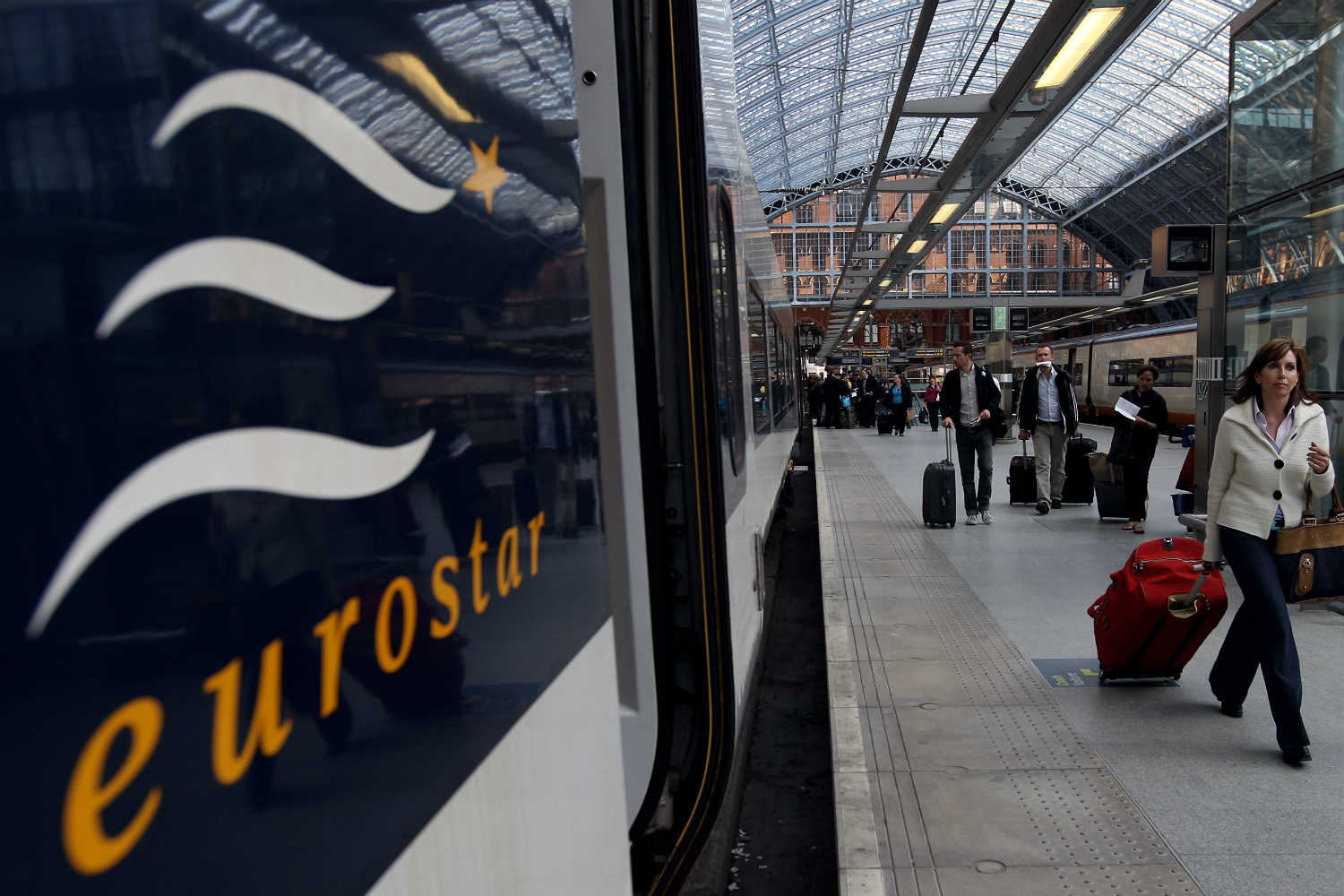 Eurostar services will be affected up to and including on New Year's Eve
