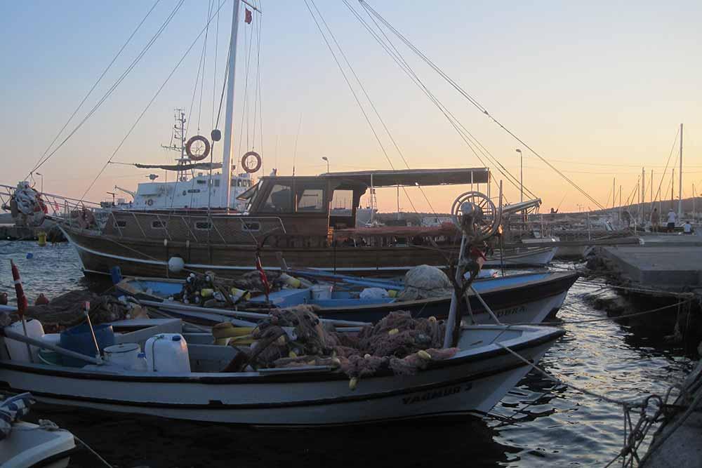 Ayvalik boats