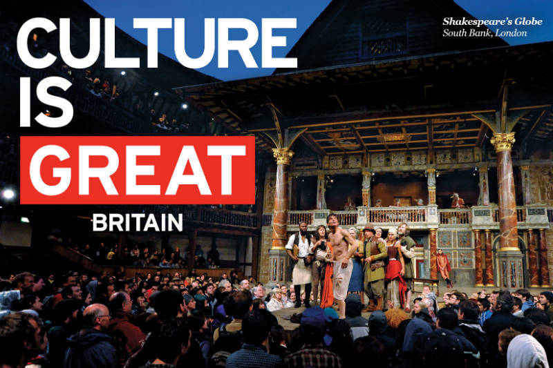 VisitBritain, advertising