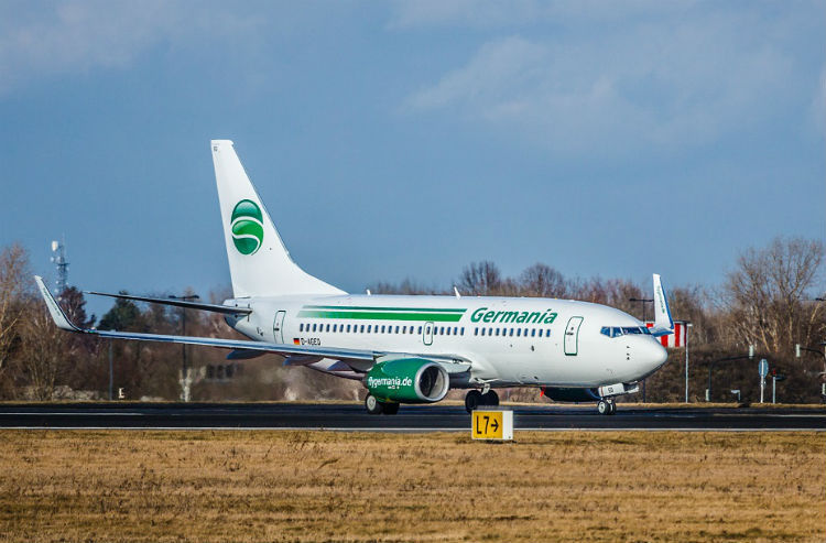 Germania aircraft