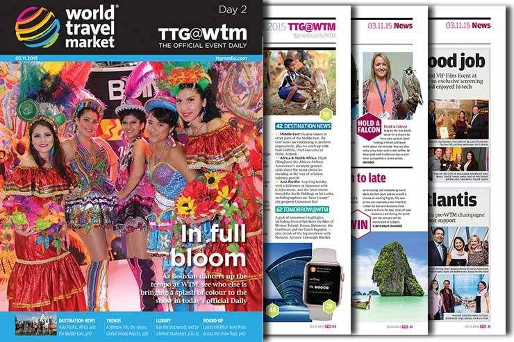 Read the WTM Official Daily edition: Day two