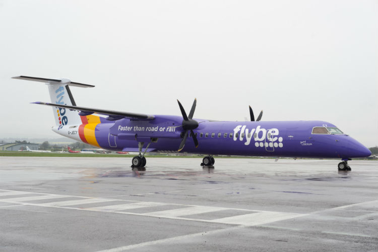 Flybe chief executive leaves 'by mutual consent'