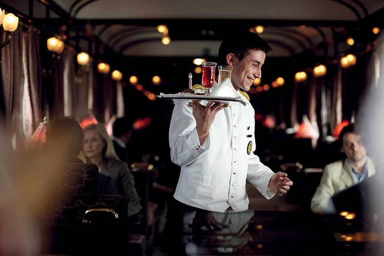 What's it like on board the world's most famous train?